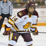 Minnesota-Duluth senior forward Alex Iafallo, of Eden, NY, notched a hat trick last Friday night in his team's 5-2 win, en route to sweeping North Dakota.  Minnesota-Duluth is ranked #1 and travels to play two games at #8 St. Cloud State University this weekend.  Read all about Iafallo and his team's sweep of North Dakota in today's post.
