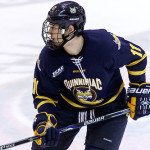 Quinnipiac senior forward Tim Clifton, of Matawan, NJ, scored a goal Friday night in his team's 3-1 win over Cornell, and scored two goals Saturday night in his team's 7-3 win over Colgate.  Clifton is first on his team in goals scored with nine, and is tied for seventh in assists with five.  Quinnipiac is 9-3-1, ranked #3, and plays #19 St. Lawrence Friday night in the opening round of the Friendship Four in Belfast, Northern Ireland, and will play either Vermont or UMass-Amherst in the second round on Saturday.