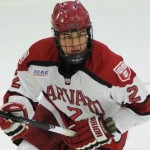 Harvard senior forward Tyler Moy, of San Diego, CA, it tied for first on his team in goals scored with eight, and is tied for fourth in assists with seven.  Harvard is 8-2-1, ranked #4,, and is off until December30th when they will host R. P. I. for one game.