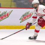 "Cornell junior forward Anthony Angello, of Manilus, NY,, scored three goals in his team's 3-0 win at Harvard Friday night, and scored a goal in his team's 3-1 win at Dartmouth Saturday night; not a bad weekend, huh?  The 6' 5"" 205lb forward is first on his team in goals scored, with twelve, and is tied for fourth in assists, with eight.  Cornell is 18-2-1, is on a ten-game unbeaten streak, is ranked #1, and will host Union College this Friday night, and will host Dartmouth Saturday night.  Read all about Angello and the Cornell team in today's post."